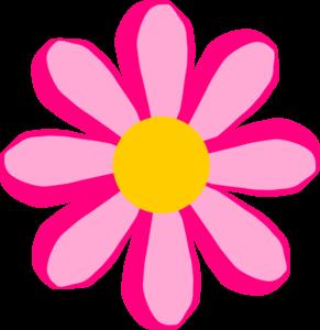 Pink Flower 2 Clip Art at Clker.com.