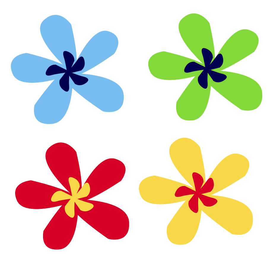 Small flower clipart #17