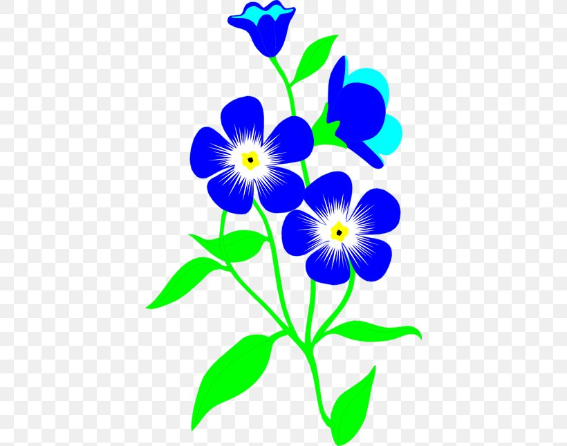 Flower Blue Clip Art, PNG, 400x645px, Flower, Black And.