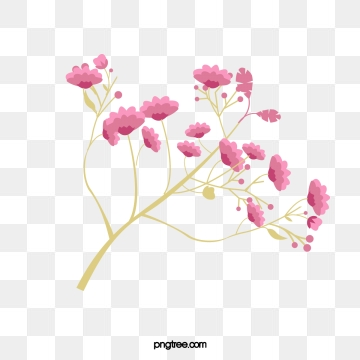 Small Flowers PNG Images.