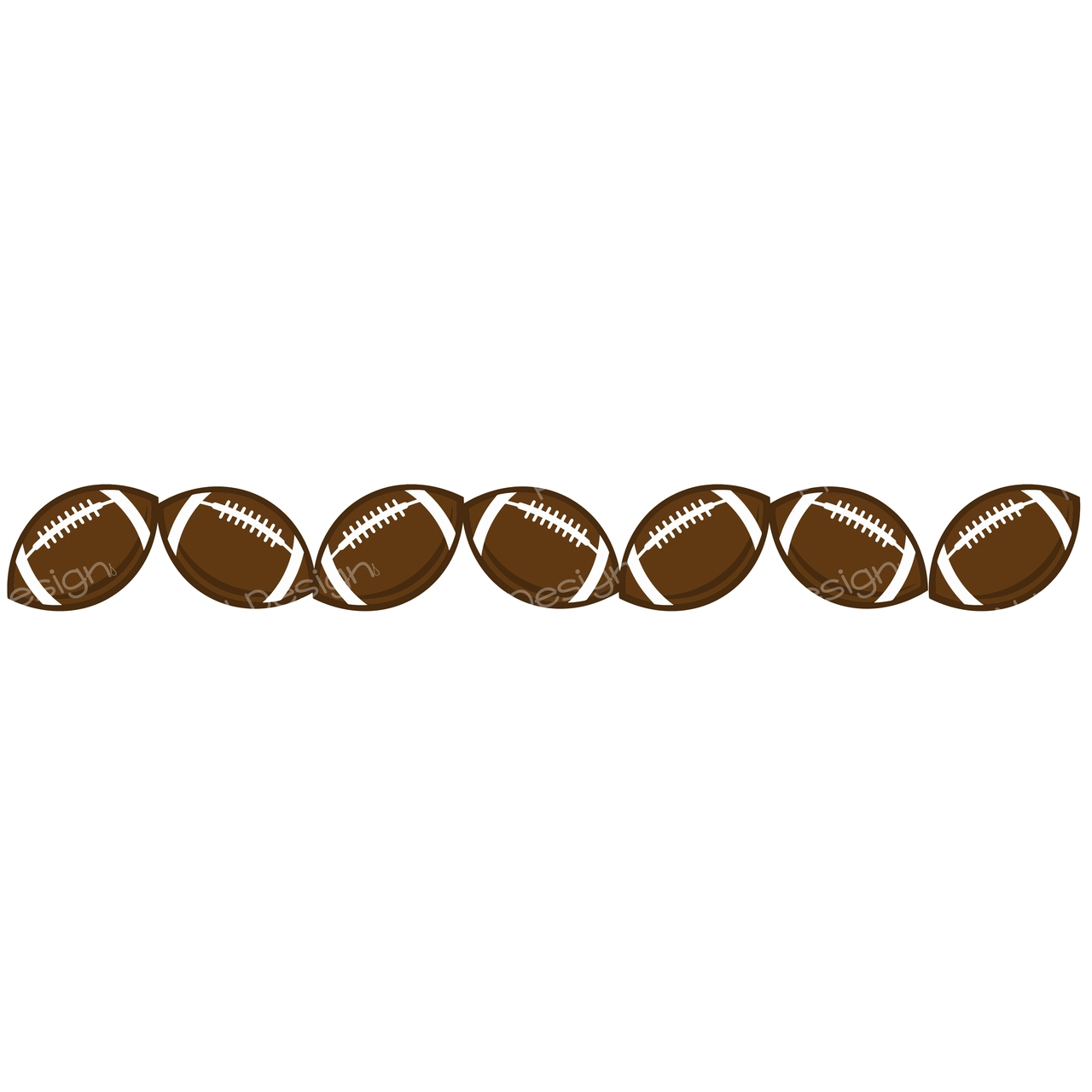 Small Football Cliparts.