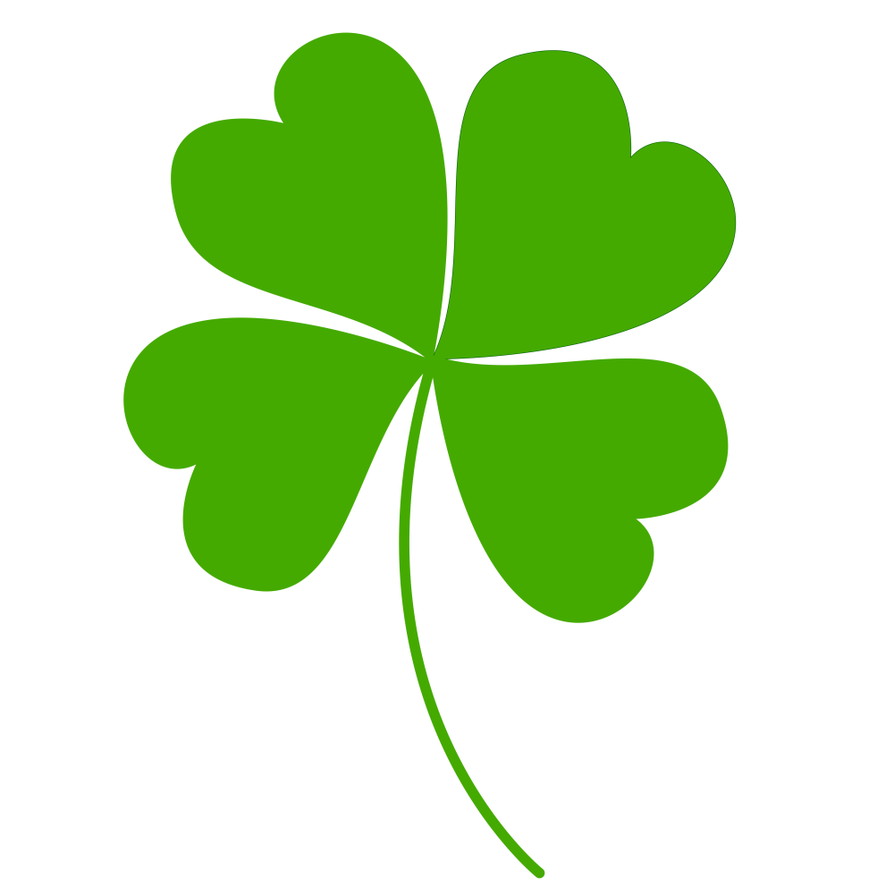 60 Four leaf clover clipart tiny for free download on.