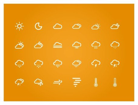small fresh weather icon, Clipart.