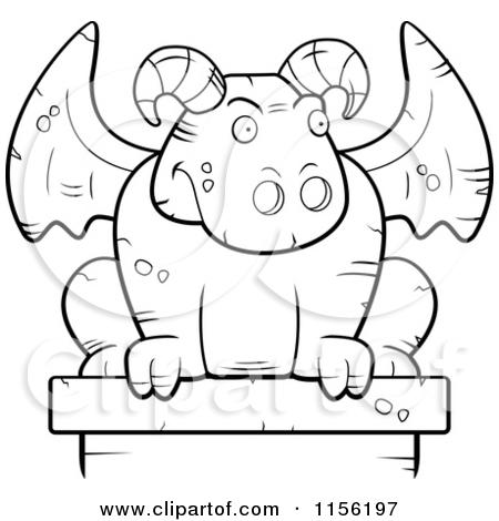 Gargoyles Cartoon Clipart.