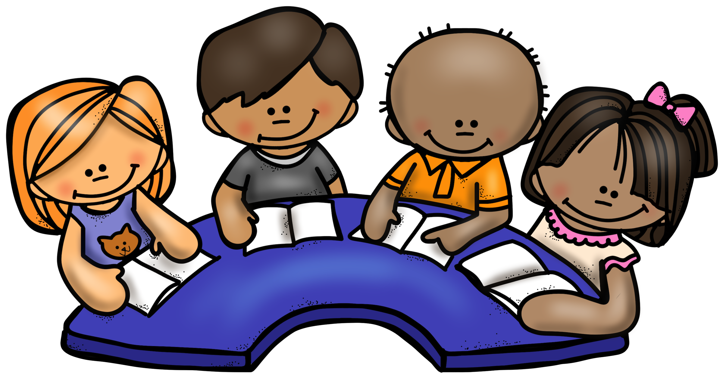 Literacy clipart small group, Literacy small group.