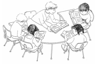 Guided Reading CLIP ART.