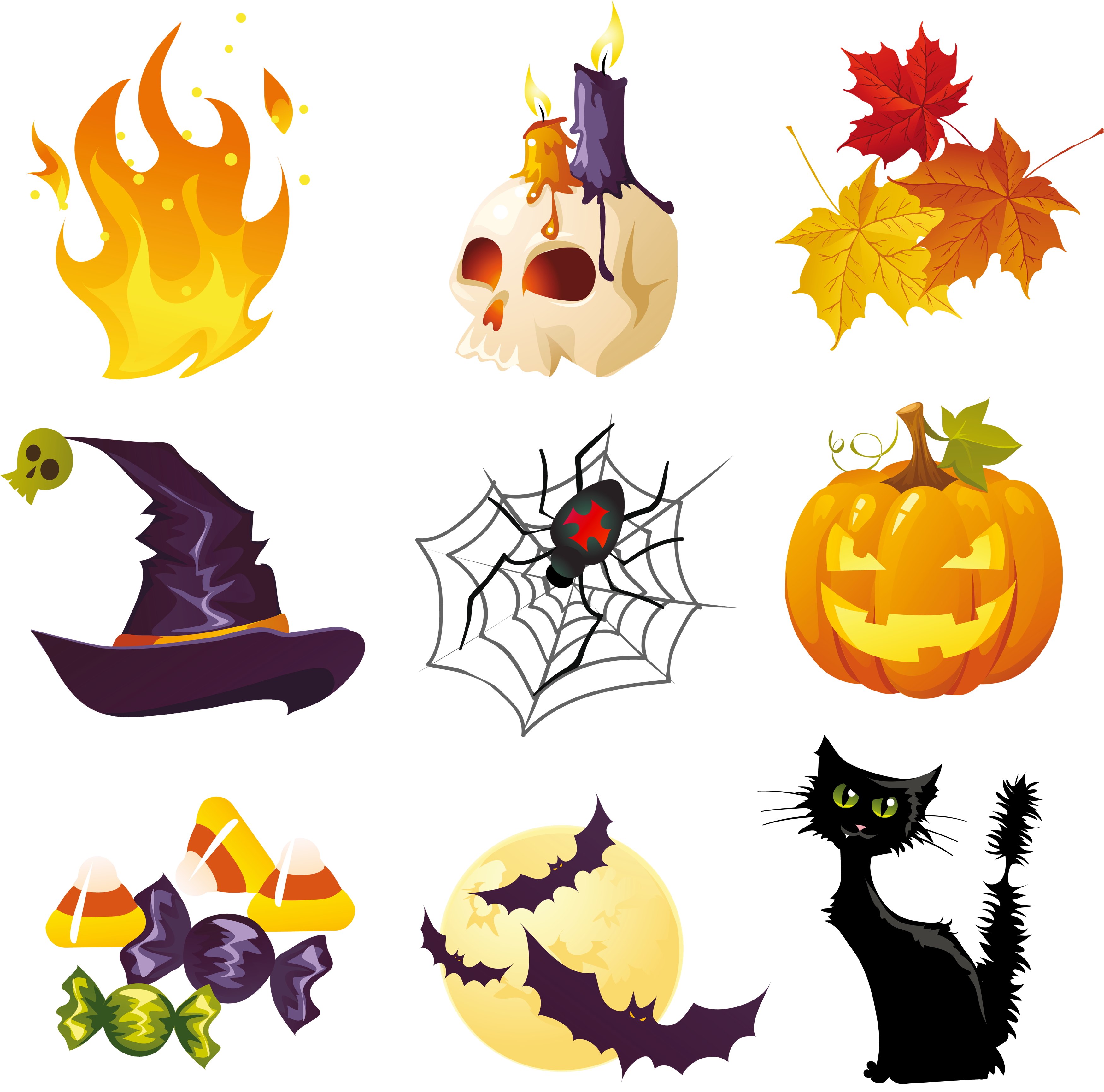 Halloween decorations clip art clipart images gallery for.