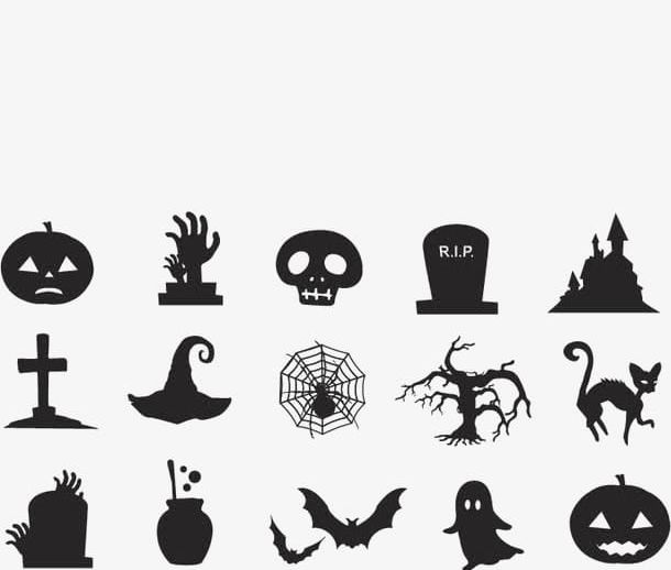 Halloween Small Element PNG, Clipart, Cross, Element.