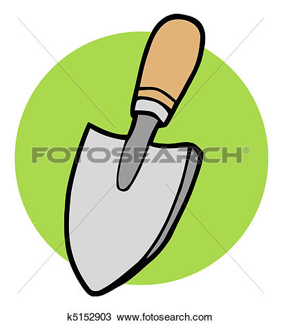 Clipart of Small Hand Trowel k5152903.