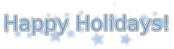 76 Free Happy Holidays Clip Art.