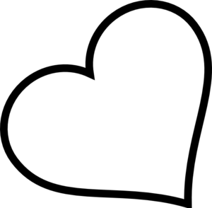 Heart black and white small heart black and white clipart.