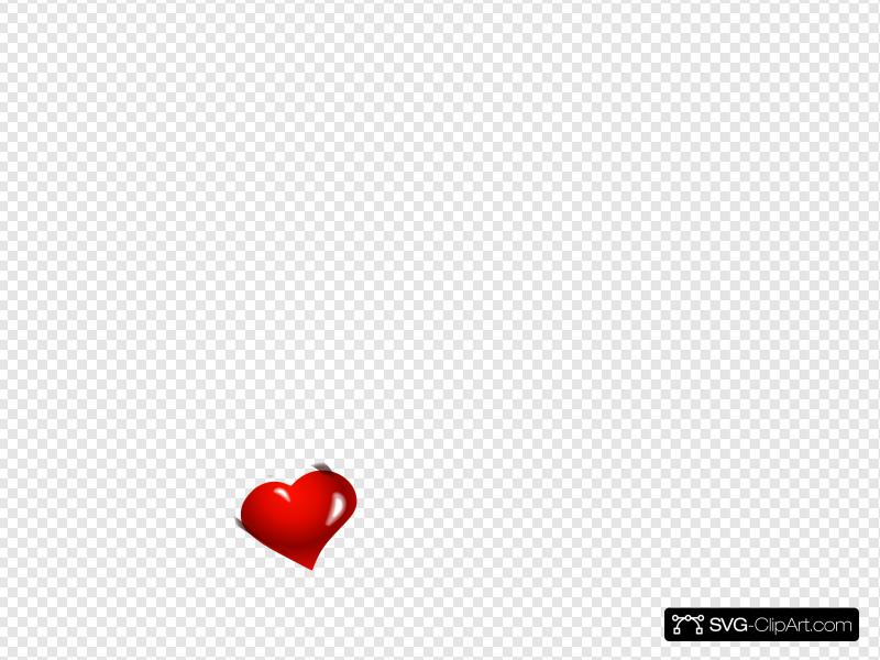 Small Heart Clip art, Icon and SVG.