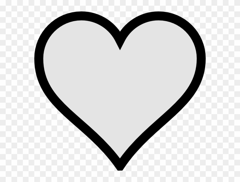 Very Small Gray Heart With Transparent Background Png.