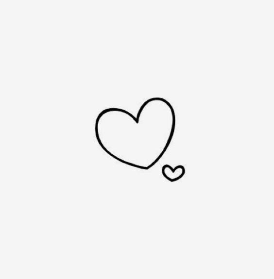 Extraordinary Tiny Heart Clip Art Classy Clipart Black And.