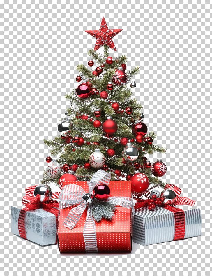 Christmas tree Santa Claus Gift Christmas and holiday season.