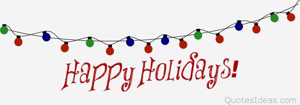 2336 Happy Holidays free clipart.