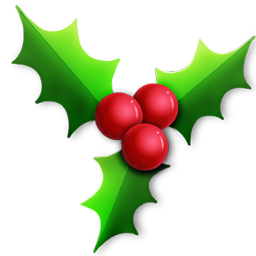 27+ Christmas Holly Clipart.