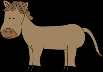 Printable Horse Clipart.