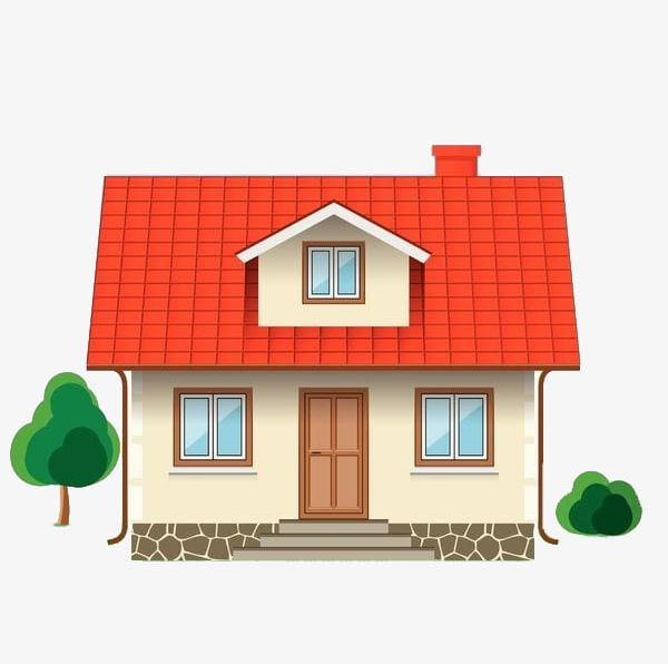 A Small House PNG, Clipart, Cartoon, Elevation, Green, Hand.
