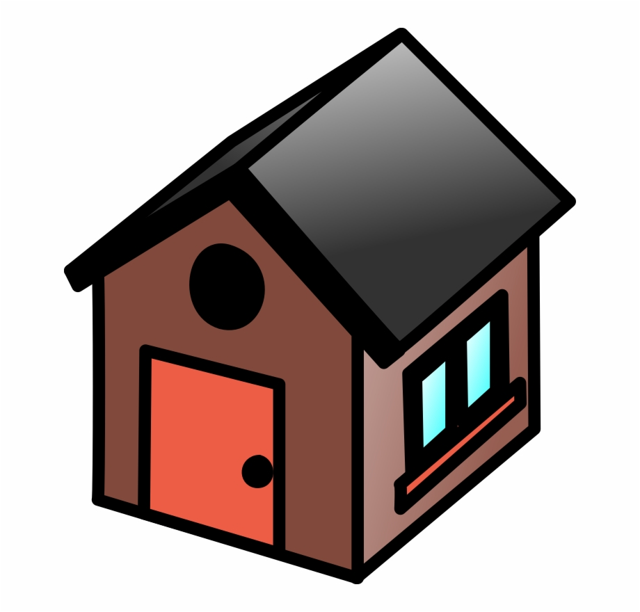 Small House Clipart.