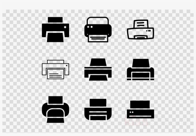 Printer Small Icon Clipart Computer Icons Printing.