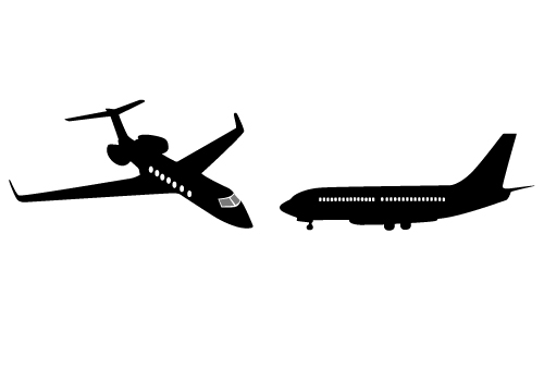 Two Awesome Free Boeing 747 Vector Graphics Free Download.