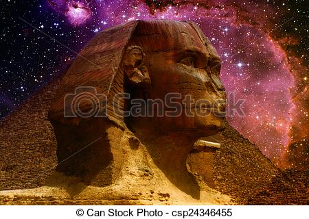 Stock Images of Sphinx and small Magellanic Cloud (Elements of.
