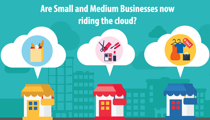 Are Small and Medium Businesses Now Riding The Cloud?.