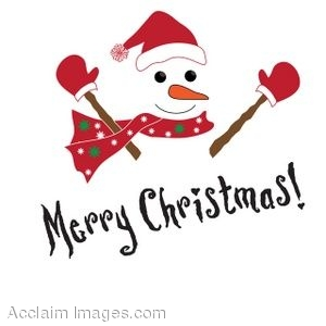 7779 Merry Christmas free clipart.