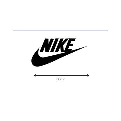 5\'\' INCH NIKE swoosh logo Vinyl Decal sticker Michael Jordan.
