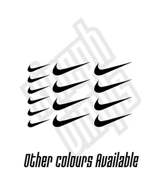 15 x Nike swoosh vinyl sticker decal iphone car mini small logo case 3cm  5cm.