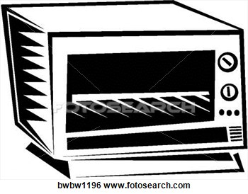 Toaster oven clipart.