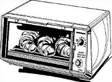 Free Toaster Oven Clipart.