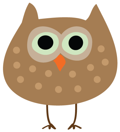 Small Owl Clipart.