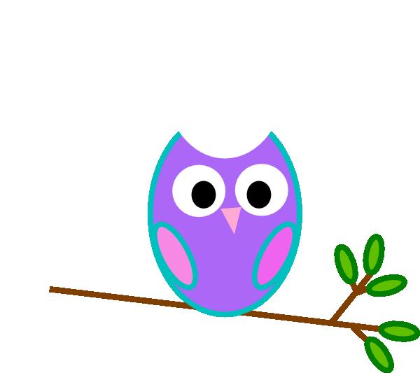 Cartoon Owl Clipart.