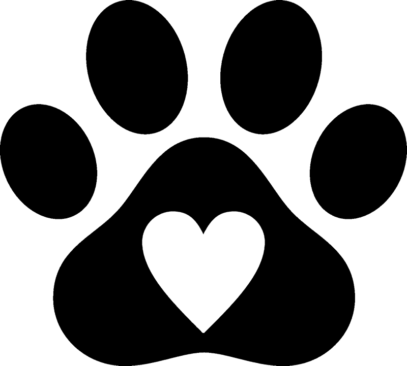 Pawprint clipart small dog, Pawprint small dog Transparent.