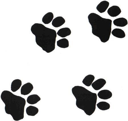 Free Paw Prints, Download Free Clip Art, Free Clip Art on.