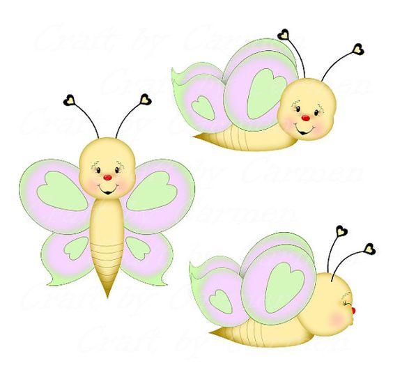 Butterfly clip art, clipart, butterflies, cute butterfly, graphic.