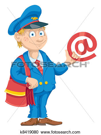 Clipart of Email for You k8419080.