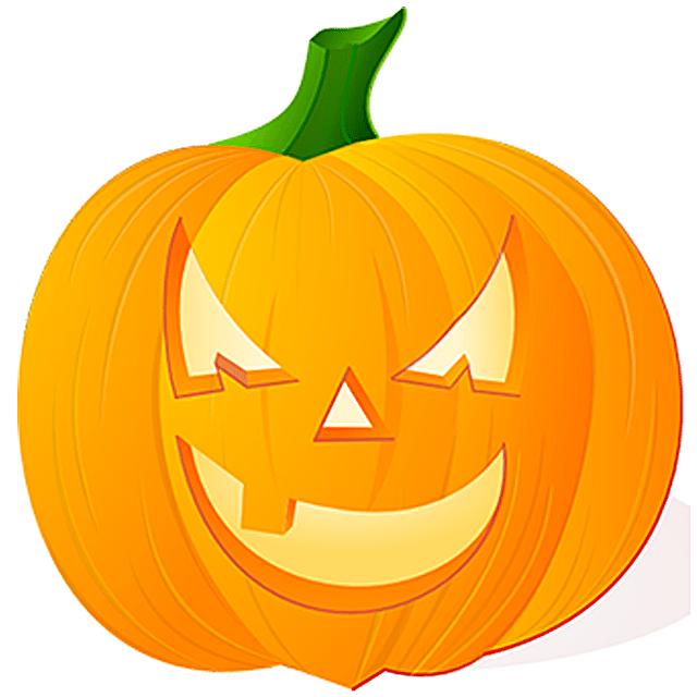 Small Pumpkin Clip Art.