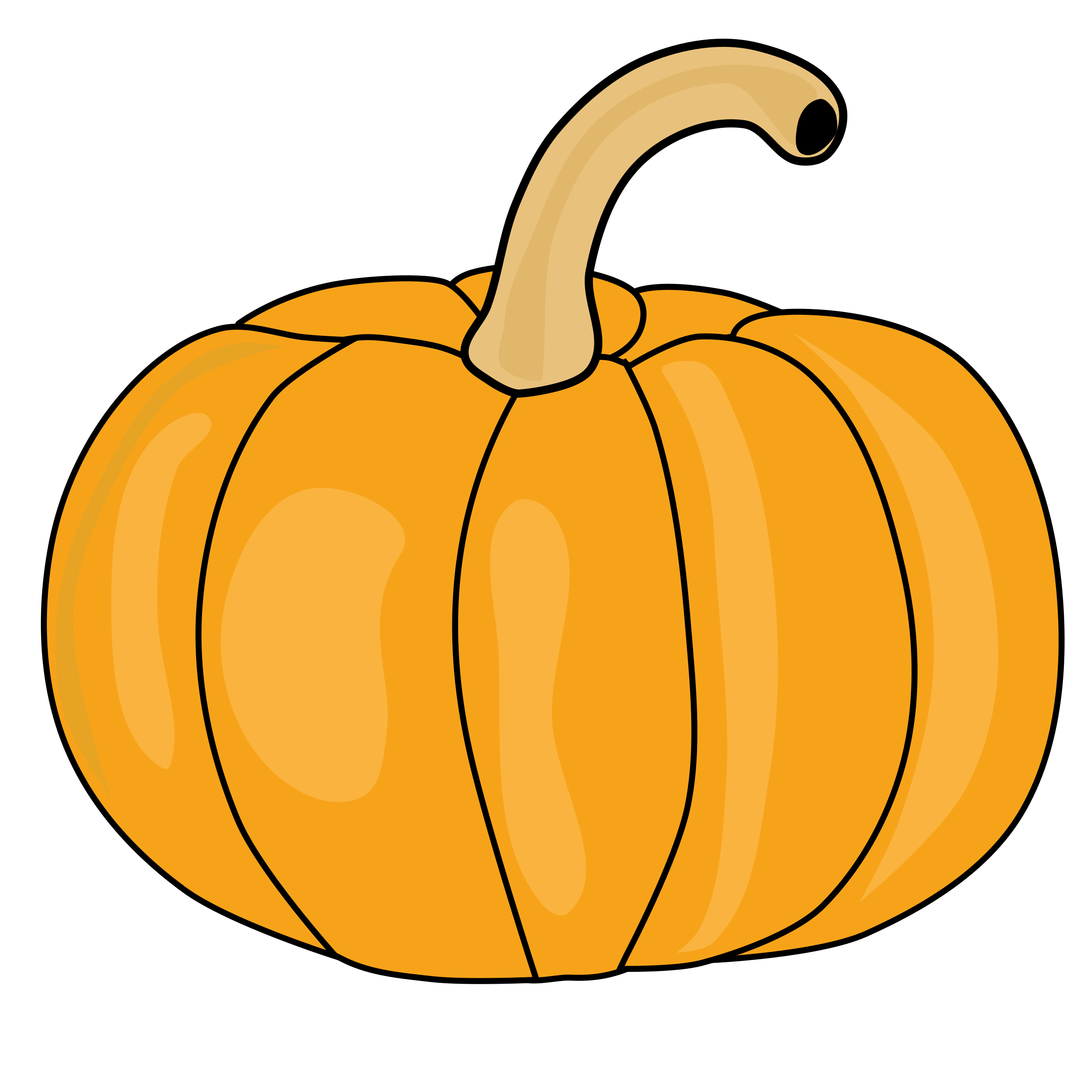 Pumpkin Bread Clipart.