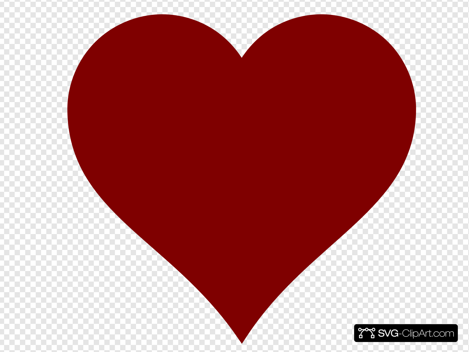 Small Red Heart With Transparent Background Clip art, Icon.