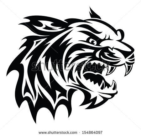 25+ best ideas about Tiger Head Tattoo on Pinterest.
