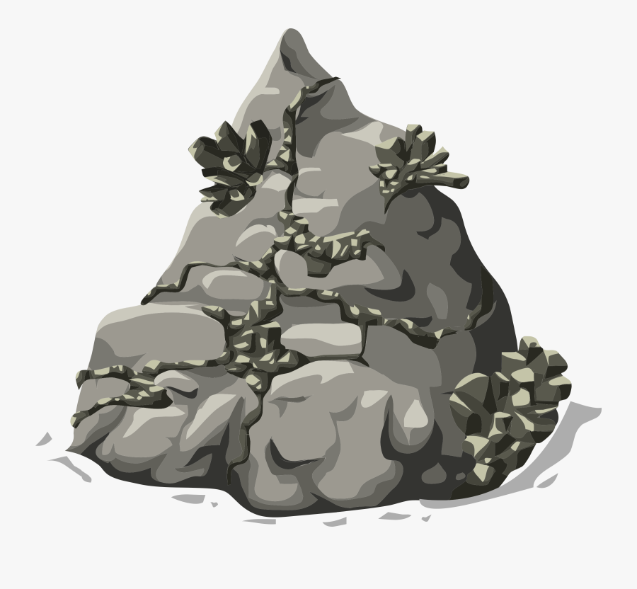 Glitch Clipart Small Rock.