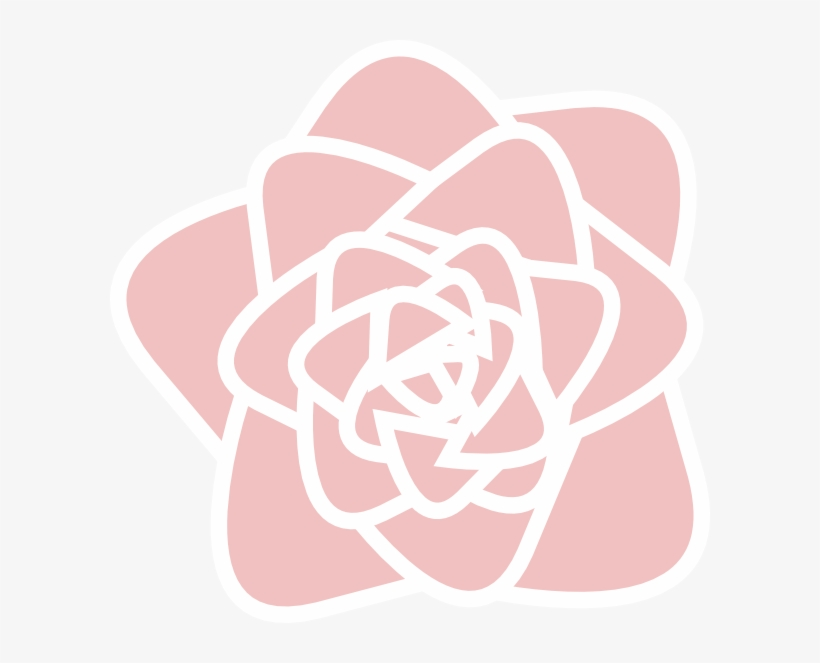 Pink Rose Clipart Pearl.