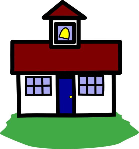 School House Clip Art at Clker.com.