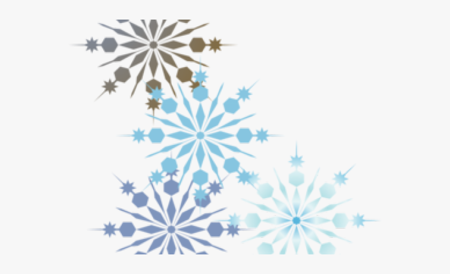 Snowfall Clipart Small Snowflake.