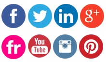 Social Media Icon For Email Signature #165924.
