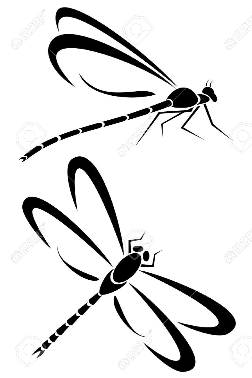 Tribal Dragonfly by ~prozacgod on deviantART.