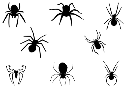 Scary Spider Clipart.